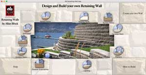 retaining wall app home screen